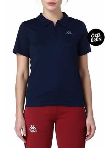 Kappa Polo Slim Fit Unisex T-Shirt Lacivert